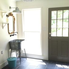 Farmhouse Laundry Room by Julie Holloway