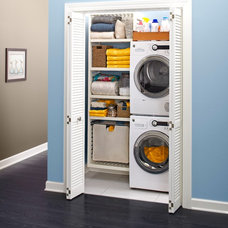 Transitional Laundry Room by Lowe's Home Improvement