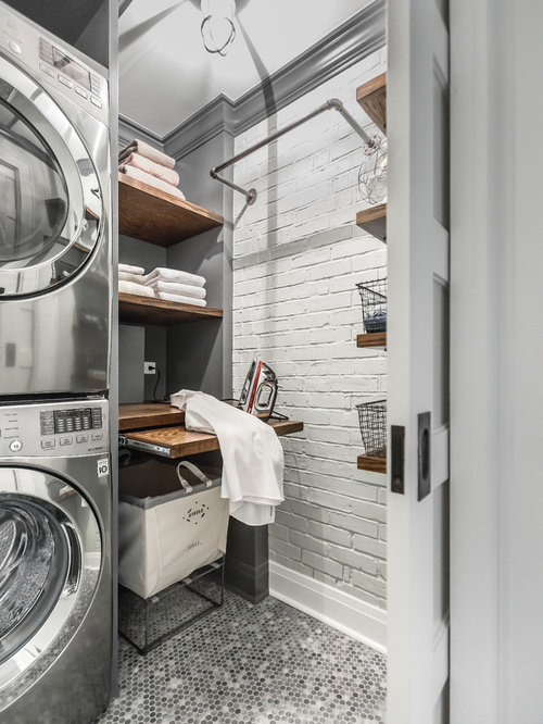 75 Laundry Closet Design Ideas Stylish Laundry Closet