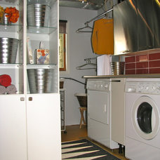 Eclectic Laundry Room by Otta Decorate!