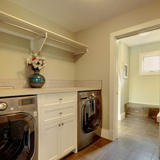 Contemporary Laundry Room by Maillot Homes