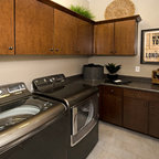 Whole House Design Contemporary Laundry Room San