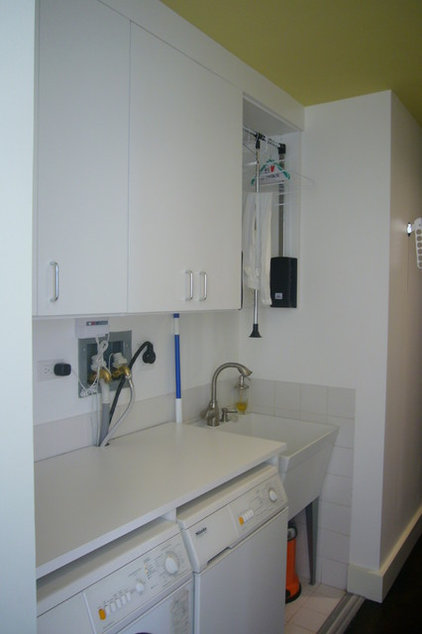 Contemporary Laundry Room by The Closet Lady/Manhattan Murphy Bed Inc.