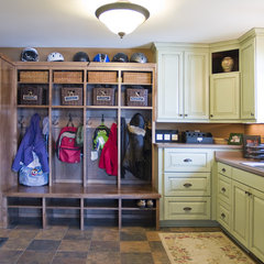 traditional laundry room by Knight Construction Design | Chanhassen, Minnesota