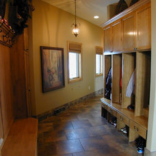 Traditional Laundry Room by Fein Design