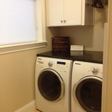 Traditional Laundry Room by Zero Latitude