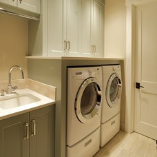 Traditional Laundry Room by Nordby Design Studio, Architecture & Interiors LLC