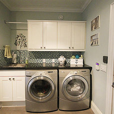Traditional Laundry Room by Simple Solutions Renovations