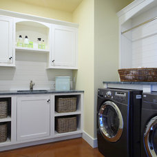 Traditional Laundry Room by Visbeen Architects