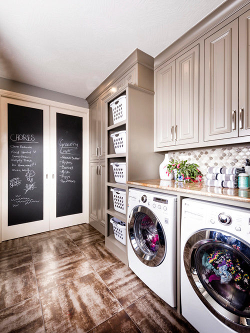 Laundry Basket Storage | Houzz