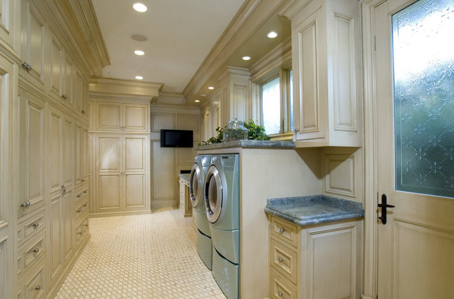 Traditional Laundry Room by Spinnaker Development