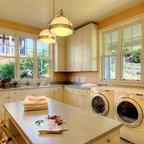 Lido Isle Home - Traditional - Laundry Room - Orange County - by Venetian Stone Gallery