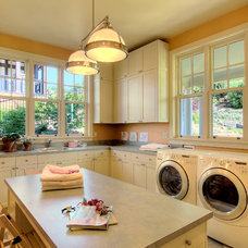 Traditional Laundry Room by Hilary Young Design Associates