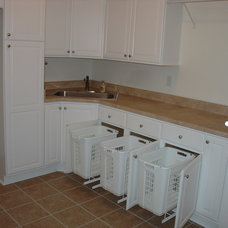 Traditional Laundry Room by Kim Petersen,   Architectural Design Services