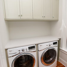 Traditional Laundry Room by JacksonBuilt Custom Homes