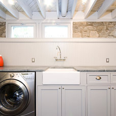 Contemporary Laundry Room by E/L STUDIO