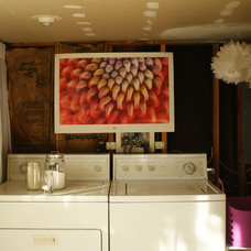 Eclectic Laundry Room by vol.25