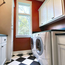 Traditional Laundry Room by M & M Home Contractors Inc