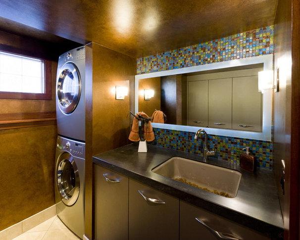 Contemporary Laundry Room by Jones Design Build