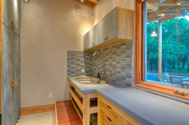 modern laundry room by josh wynne construction