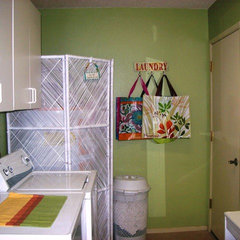 traditional laundry room Jude Reed
