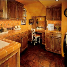Traditional Laundry Room Just Peachy Laundry Room