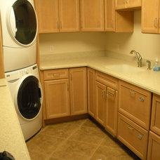 Modern Laundry Room Katie Krafcik Design