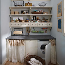 Farmhouse Laundry Room by Classic Kitchens & Baths