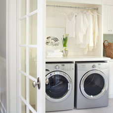 Traditional Laundry Room by Kelly Deck Design