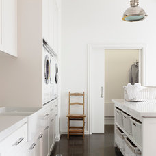 Contemporary Laundry Room by Canny Design