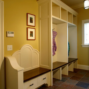 Traditional laundry room in Minneapolis.