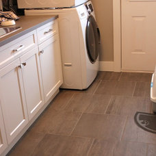 Traditional Laundry Room by United Floors