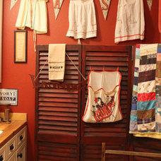 Traditional Laundry Room Kim Wilson