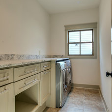 Traditional Laundry Room by PAUL VARNEY CONSTRUCTION, LLC