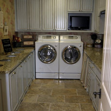 Traditional Laundry Room by B&B Builders