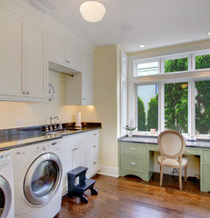 traditional laundry room by RW Anderson Homes