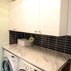 Contemporary Laundry Room by micheal lambie interiors