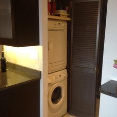 Contemporary Laundry Room by Zeta Construction