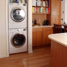 Contemporary Laundry Room by Forward Design Build