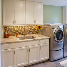 Traditional Laundry Room by Nicholson Builders