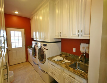 Kitchen, Mudroom, Fireplace Remodel