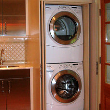 Traditional Laundry Room by Cacique Construction