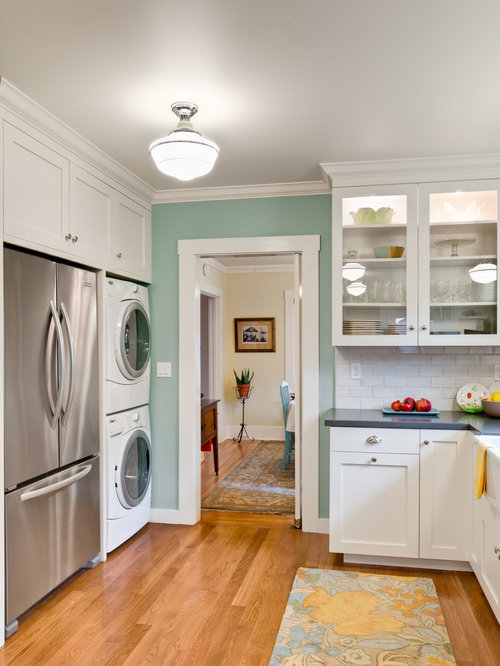 Small Kitchen Laundry Room Design Ideas Pictures Remodel