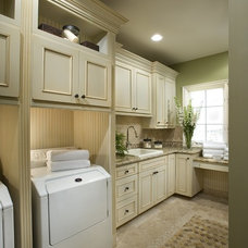 Traditional Laundry Room by Contemporary Bath Kitchen and Lighting Center