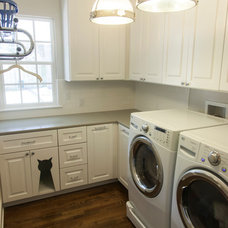 Traditional Laundry Room by Red River Remodelers, LLC
