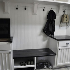 Contemporary Laundry Room Kjelgaard Mudroom