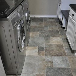 contemporary floor tile laundry room design ideas pictures remodel