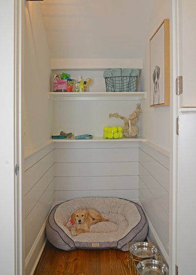 Traditional Laundry Room by Maria Adams Designs