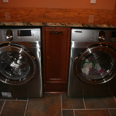 Traditional Laundry Room by Lowes of Indian Land, SC