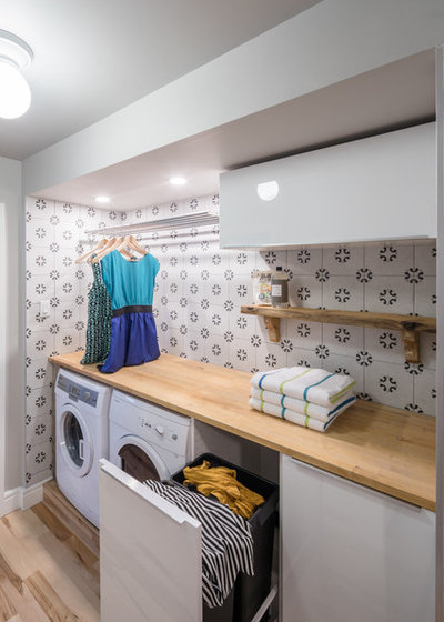 Contemporary Utility Room by Grassroots Design